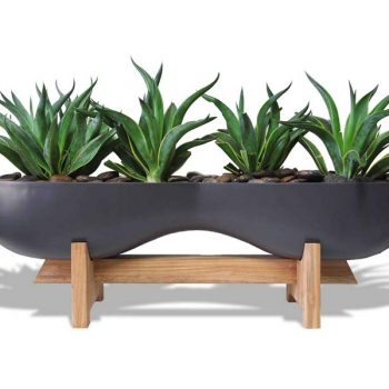 Timbrell gray planter