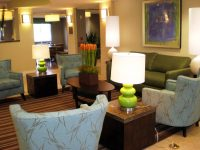 Planter in a hotel