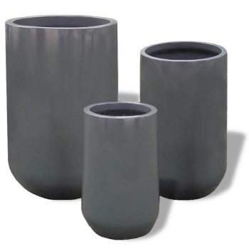 Collection of Hayden planters in three sizes