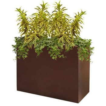 Perth brown planter box