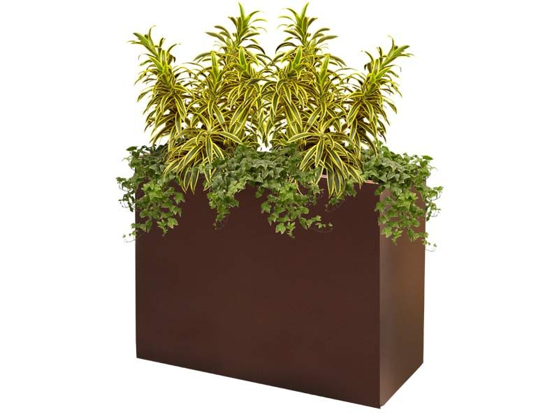 Perth brown planter box