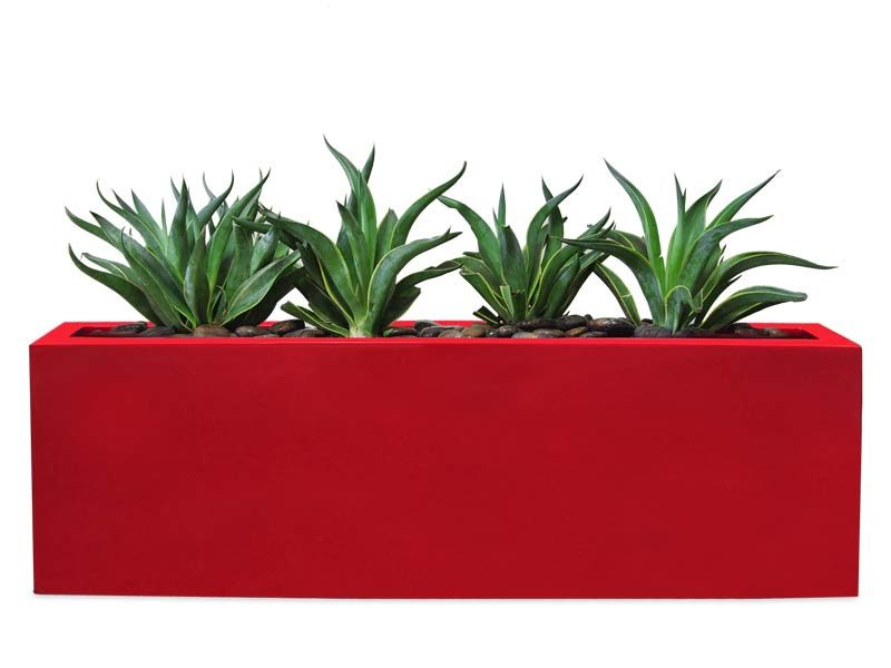 Camoux red planter