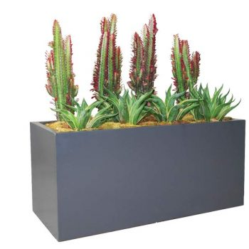 Badalona gray planter box