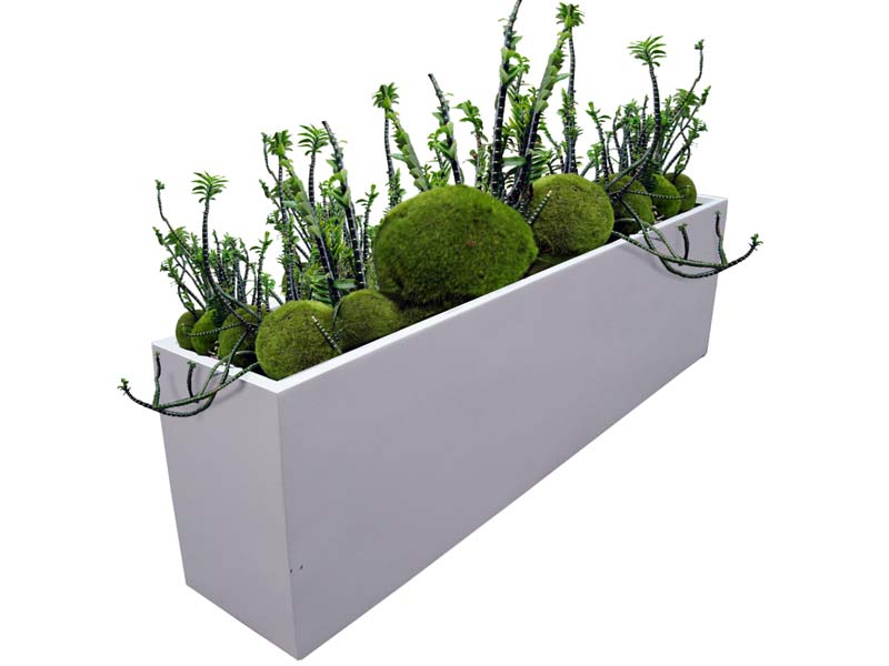 Large Rectangular Planters Home Decor