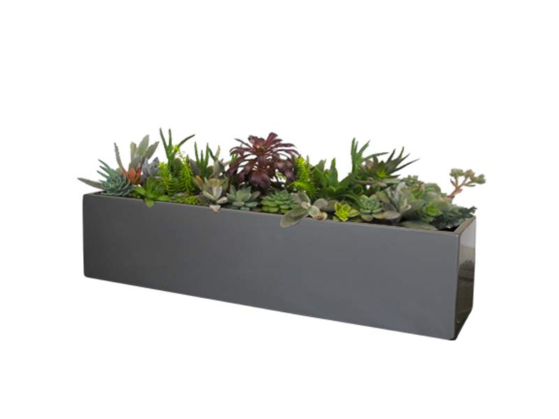 Great Vicksburg Table Top Rectangle Planter