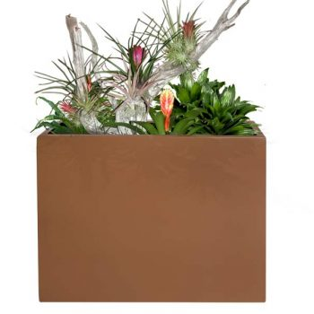 Amesbury narrow rectangular planter box