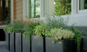 Planter herb garden