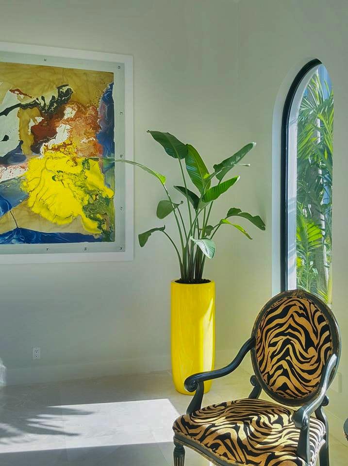 Planter In Modern Home