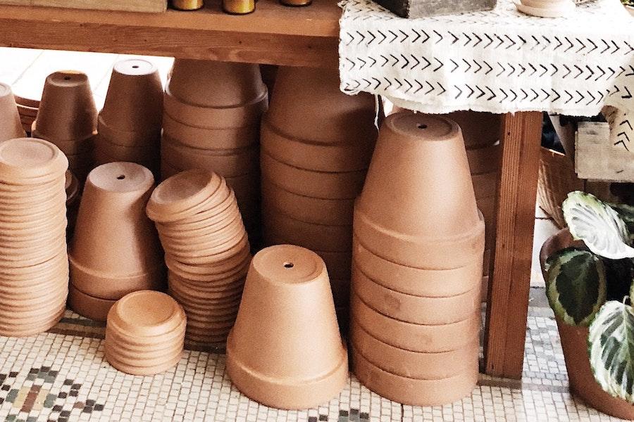 easy flower pot arrangement ideas