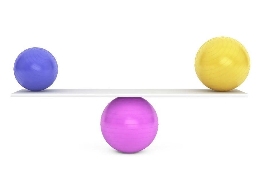 balancing colors